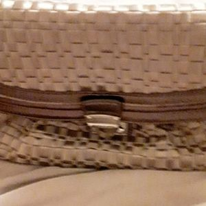 The Sak metallic color purse